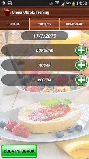 【免費生活App】Dnevnik & Tablica Kalorija-APP點子