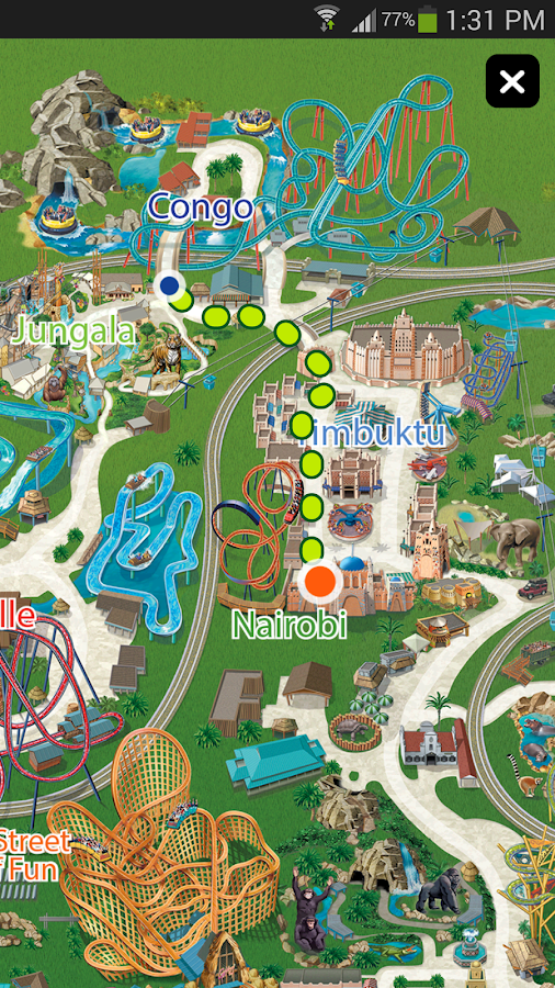 Busch Gardens Discovery Guide Android Apps on Google Play