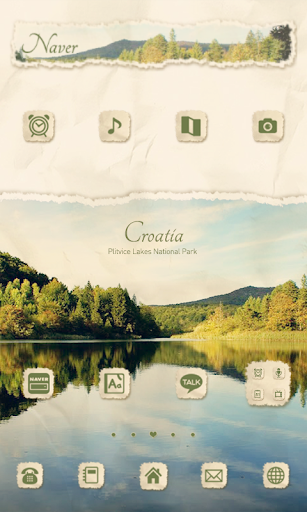 Croatia dodol launcher theme