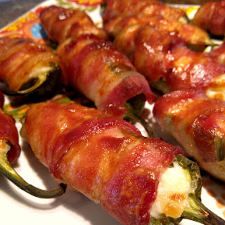 Bacon-Wrapped Pineapple Jalapeno Poppers
