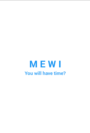MEWI - The Game