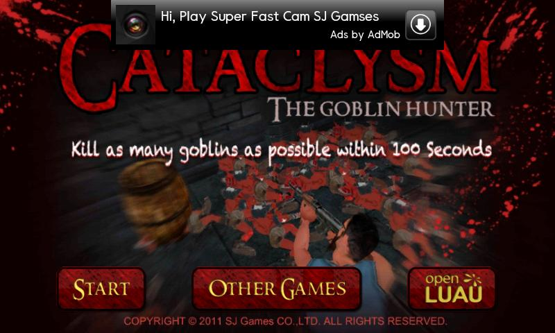 Cataclysm- screenshot