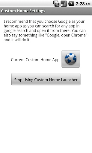 Custom Home Launcher