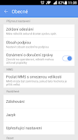 Screenshot of GO SMS Pro Czech package