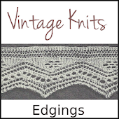 Vintage Knits: Edgings