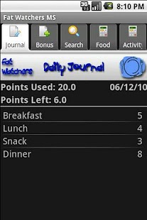 Fat Watchers Plus- screenshot thumbnail