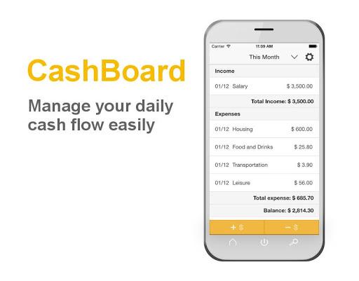 CashBoard - Cash Flow Tracker