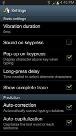 Swype Keyboard Screenshot 6
