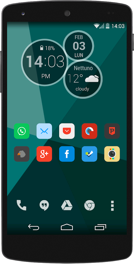 Romow Minimal ADW Nova Apex - screenshot
