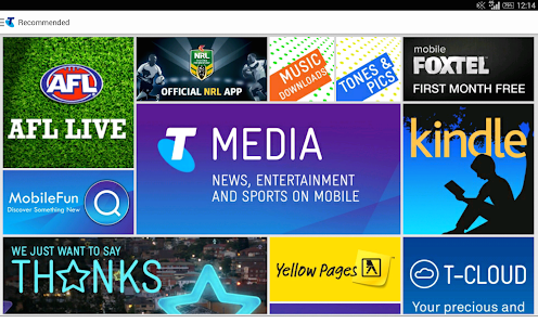 Telstra - screenshot thumbnail