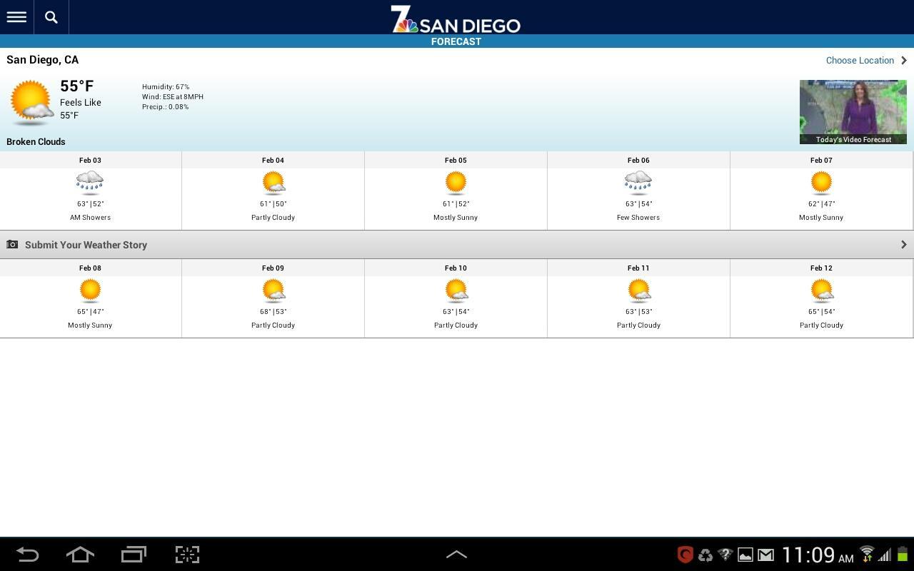 NBC 7 San Diego- screenshot