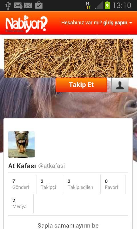 Nabiyon Sosyal Ağ- screenshot