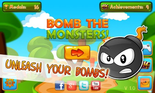Bomb the Monsters!- screenshot thumbnail