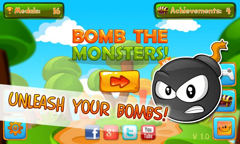 Bomb the Monsters!- screenshot