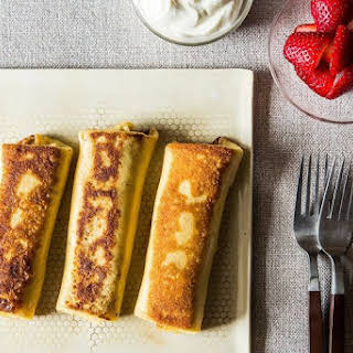 Joan Nathan's Chosen Cheese Blintzes.
