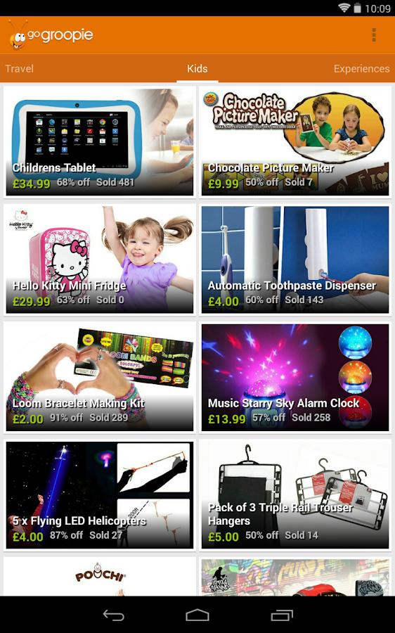 GoGroopie - screenshot