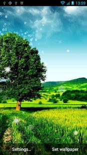 Krajina živé tapety - náhled