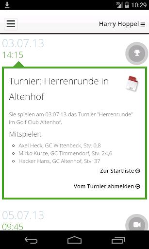 PC CADDIE Golf Club App 2.3.0 screenshots 2