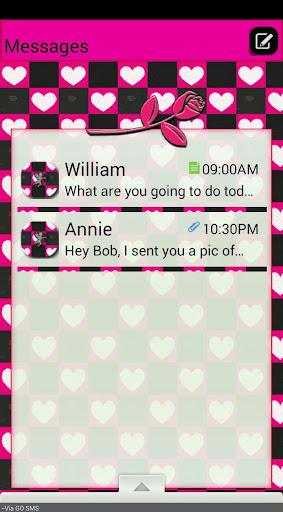 ValentinesDay7 GO SMS THEME