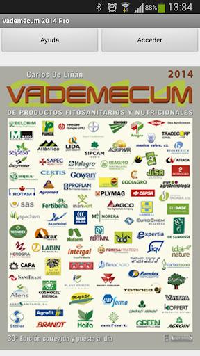 Vademécum Fitosanitarios PRO14