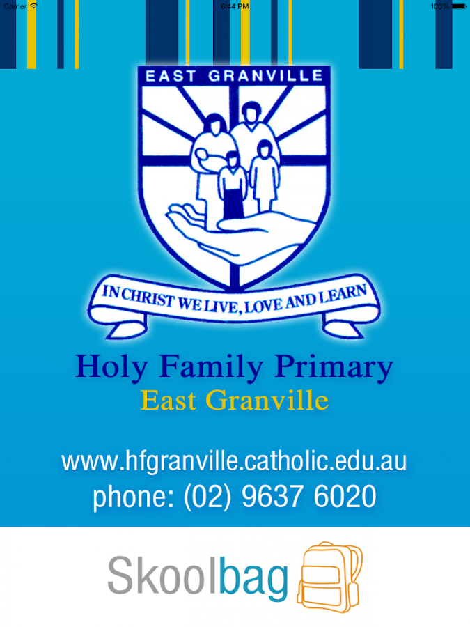 Holy Family Primary Granville- screenshot