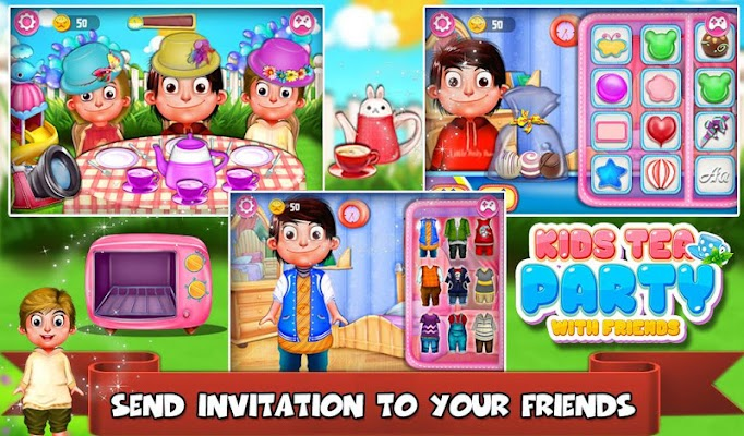 Kids Tea Party - screenshot