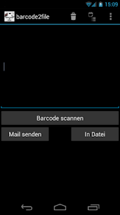 barcode2file - screenshot thumbnail