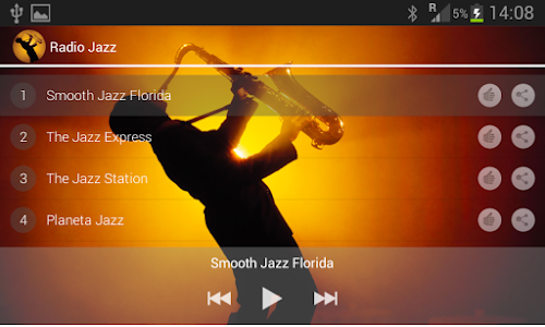 JAZZ MUSIC | 100 RADIO screenshot 1