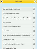 Screenshot of Şifalı Dualar