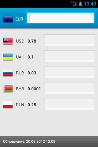 Currency converter Full