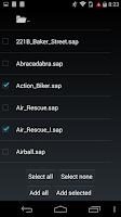 Screenshot of DeaDBeeF Player
