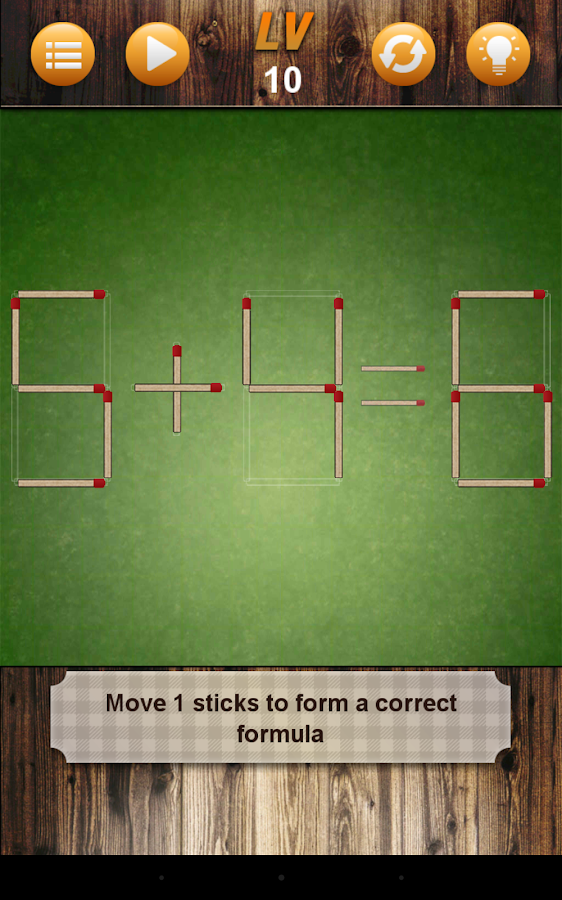 Battle Matchstick Puzzle- screenshot