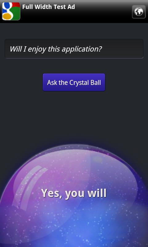 Crystal Ball- screenshot