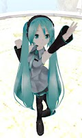 Screenshot of MikuMikuDroid