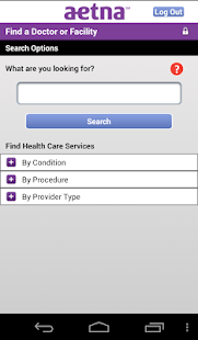 Aetna Mobile- screenshot thumbnail