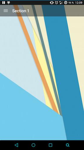【免費生產應用App】Advanced Material Drawer Lib-APP點子