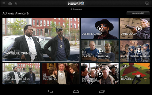 HBO GO Romania- screenshot thumbnail