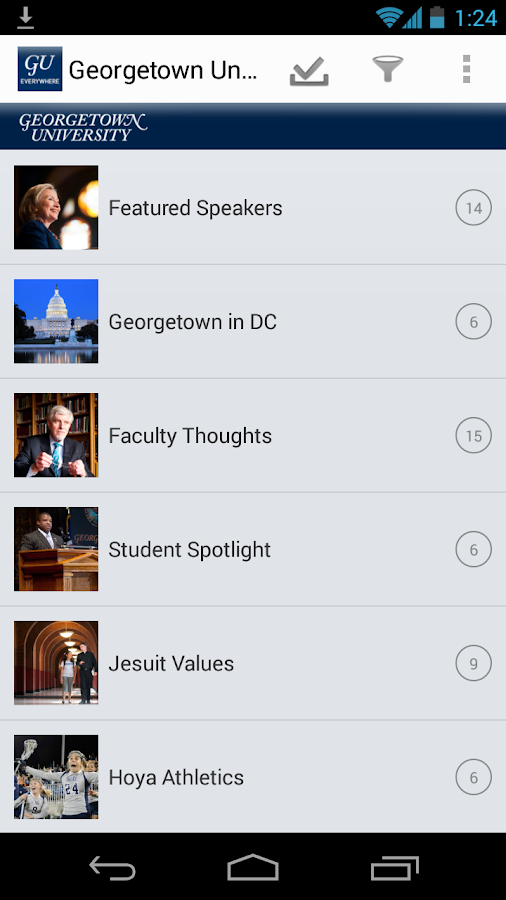 Georgetown Everywhere - screenshot