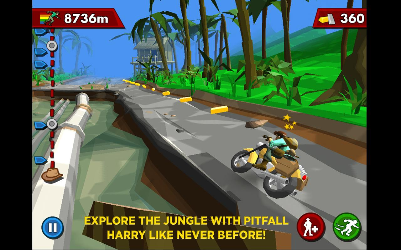 Screenshots of PITFALL!™ for iPhone
