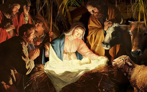 Jesus in Manger Live Wallpaper- screenshot thumbnail