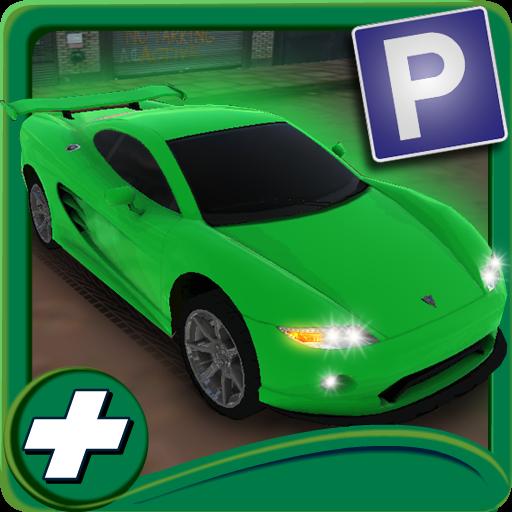 模擬App|試乗学校の駐車3D LOGO-3C達人阿輝的APP