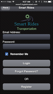 Smart Rides Booking App- screenshot thumbnail