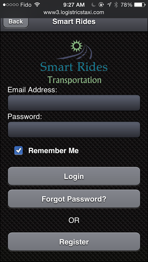 Smart Rides Booking App- screenshot