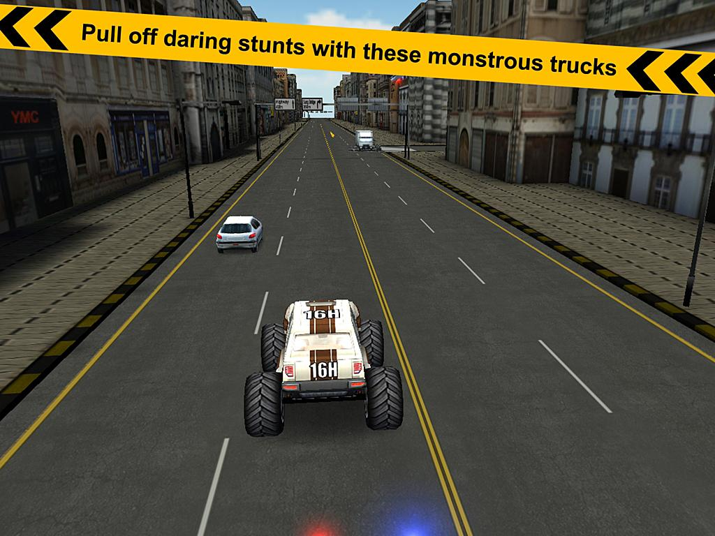 Crazy Monster Truck - Escape- screenshot
