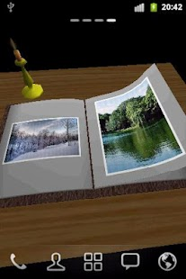 Photo Book 3D Live Wallpaper- screenshot thumbnail