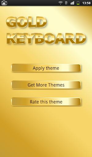 Gold Keyboard
