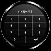 Gesture Calculator for Wear