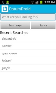 DatumDroid- screenshot thumbnail
