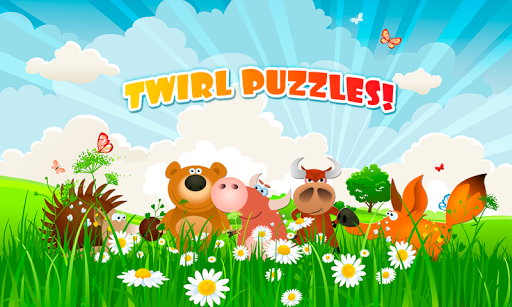 TWIRL PUZZLE for kids