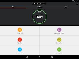 Screenshot of AnTuTu Benchmark